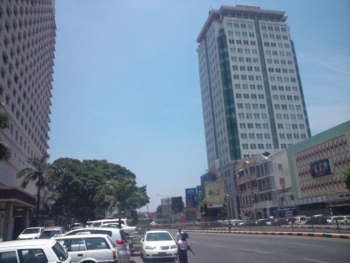 ヤンゴン中心部